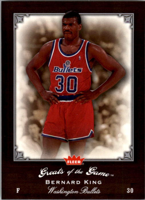 2005-06 Greats of the Game #29 Bernard King