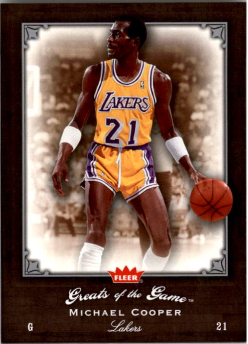 2005-06 Greats of the Game #35 Michael Cooper