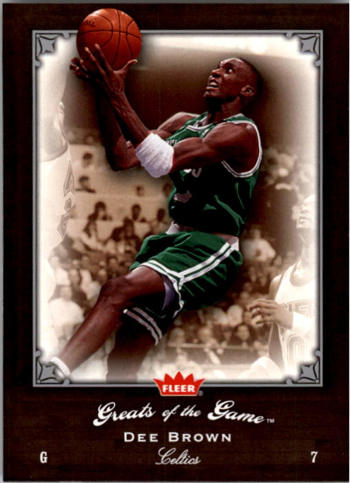 2005-06 Greats of the Game #44 Dee Brown