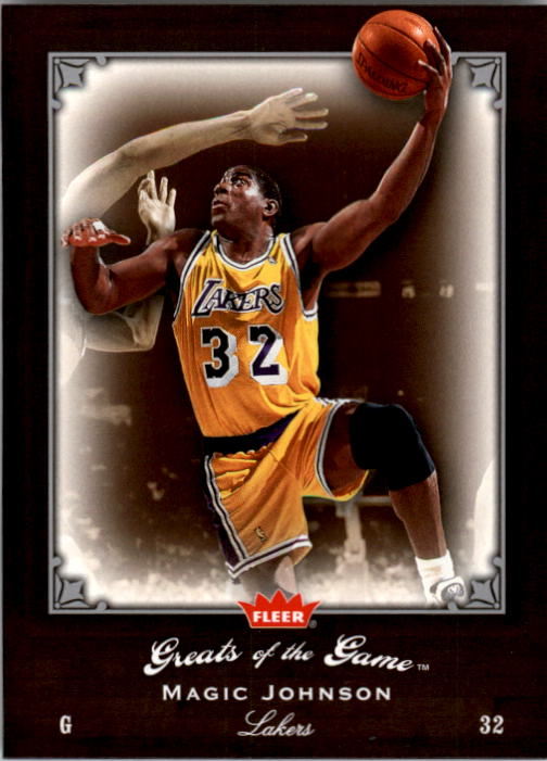 2005-06 Greats of the Game #54 Magic Johnson