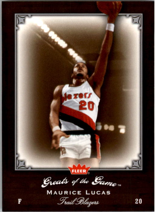 2005-06 Greats of the Game #60 Maurice Lucas