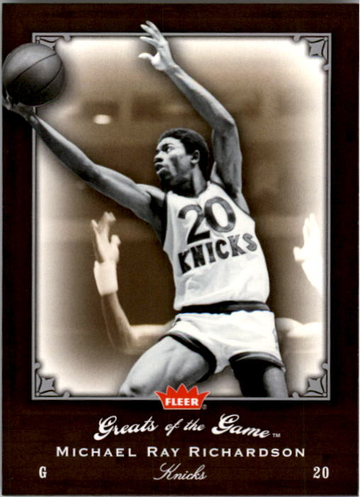 2005-06 Greats of the Game #62 Michael Ray Richardson