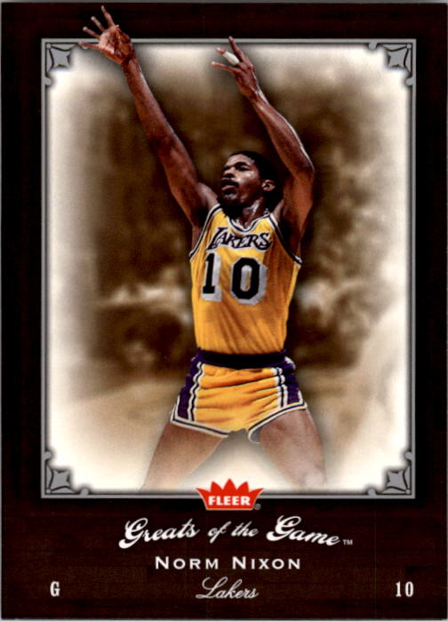 2005-06 Greats of the Game #69 Norm Nixon