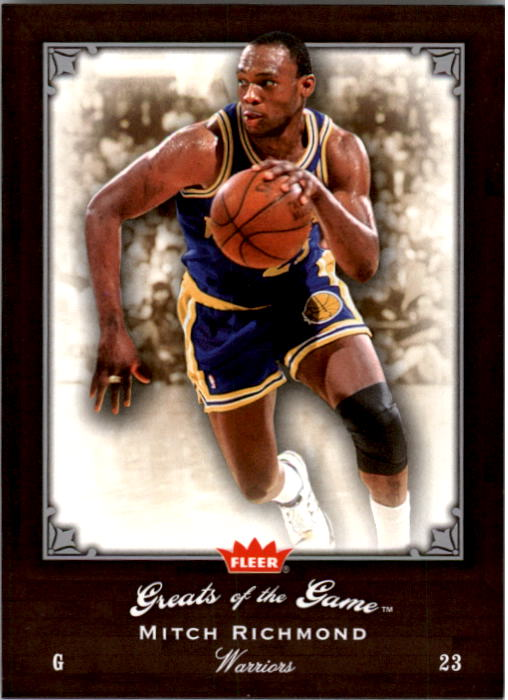 2005-06 Greats of the Game #75 Mitch Richmond