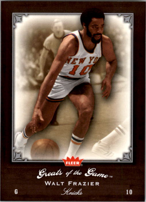 2005-06 Greats of the Game #85 Walt Frazier