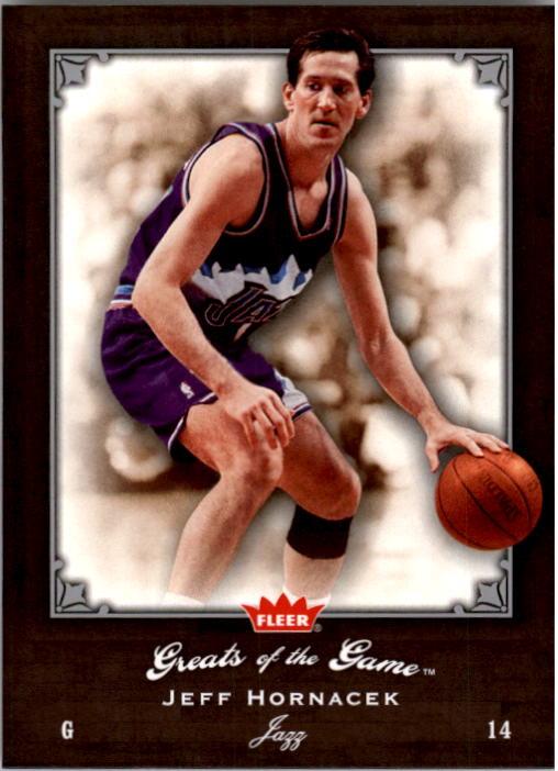 2005-06 Greats of the Game #86 Jeff Hornacek