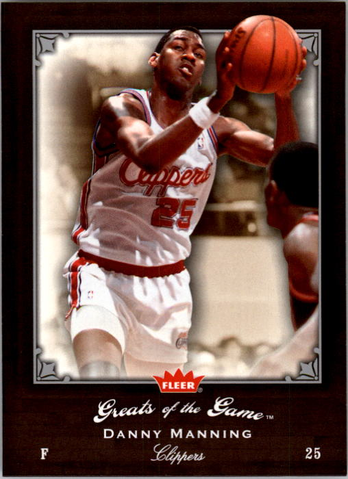 2005-06 Greats of the Game #87 Danny Manning