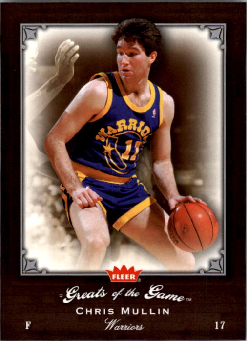 2005-06 Greats of the Game #91 Chris Mullin