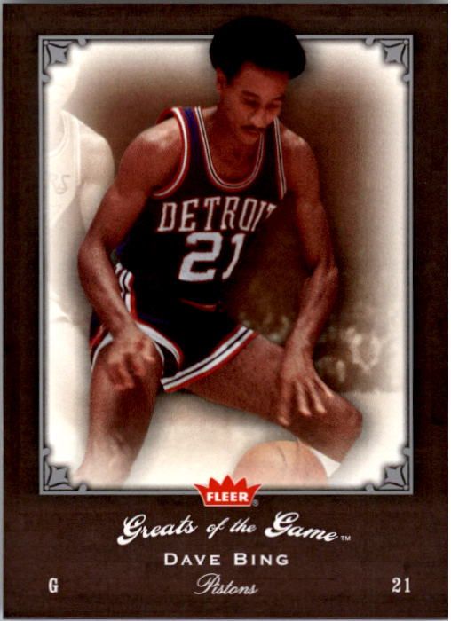 2005-06 Greats of the Game #93 Dave Bing CC