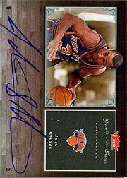 2005-06 Greats of the Game Autographs #GGJS John Starks/250*