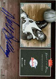 2005-06 Greats of the Game Autographs #GGWB Walt Bellamy/248*