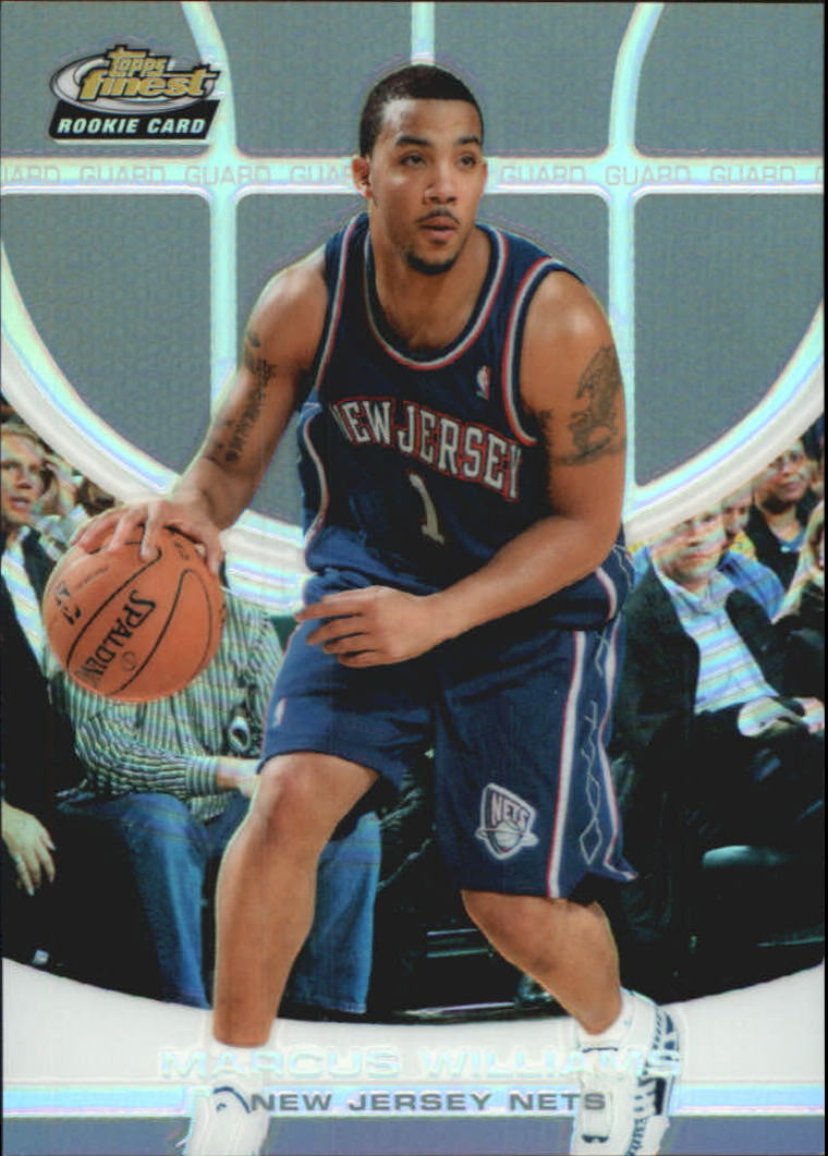 2005-06 Finest Refractors #161 Marcus Williams