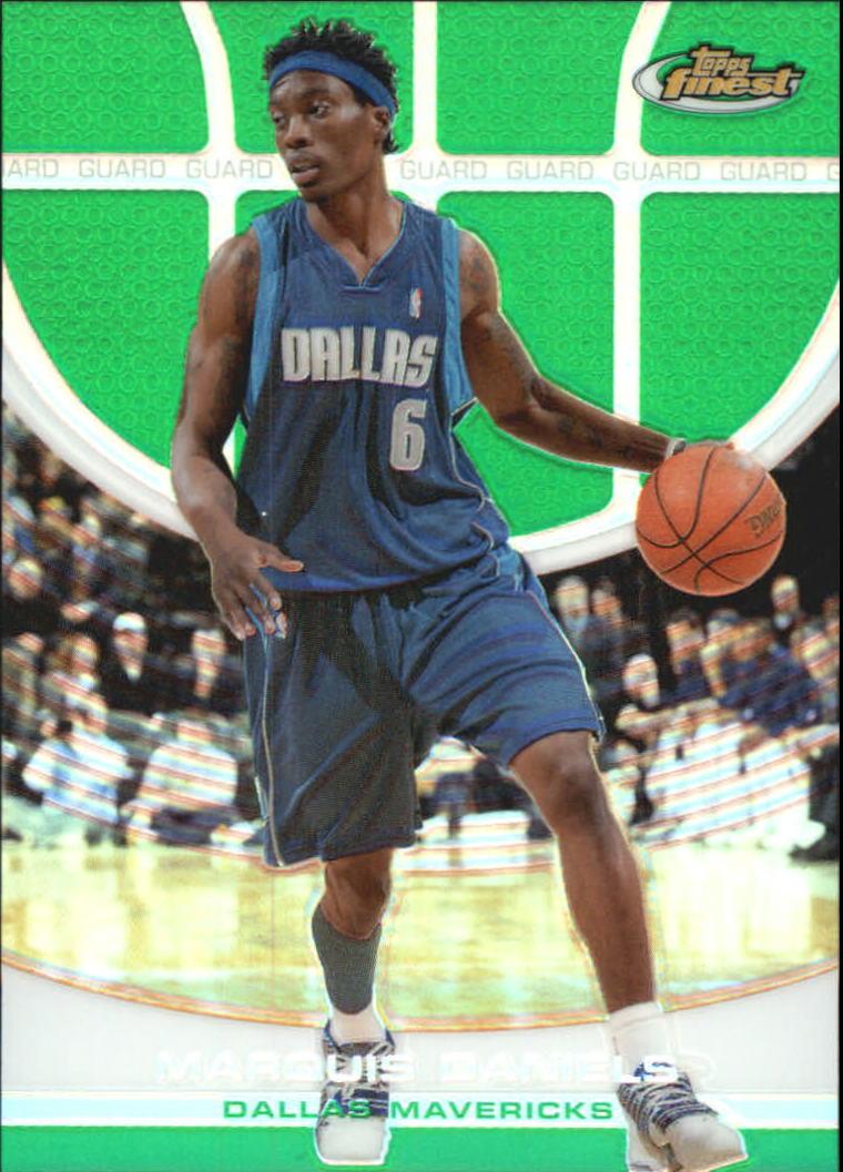 2005-06 Finest Refractors Green #16 Marquis Daniels