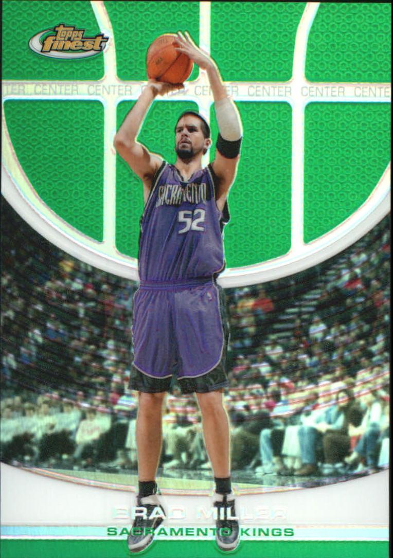 2005-06 Finest Refractors Green #41 Brad Miller