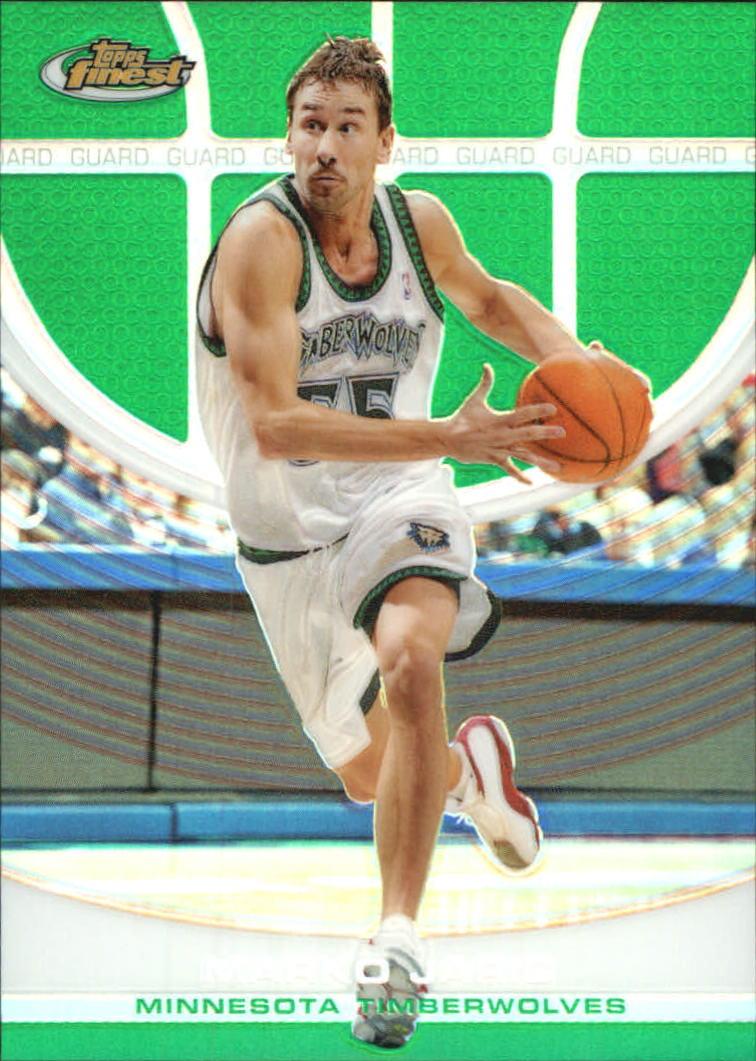 2005-06 Finest Refractors Green #93 Marko Jaric