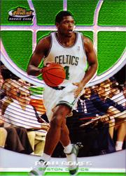 2005-06 Finest Refractors Green #118 Ryan Gomes
