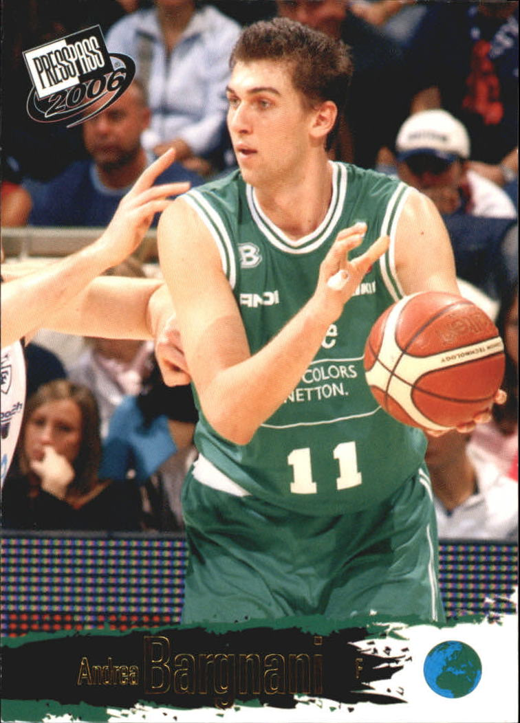 2006 Press Pass #5 Andrea Bargnani