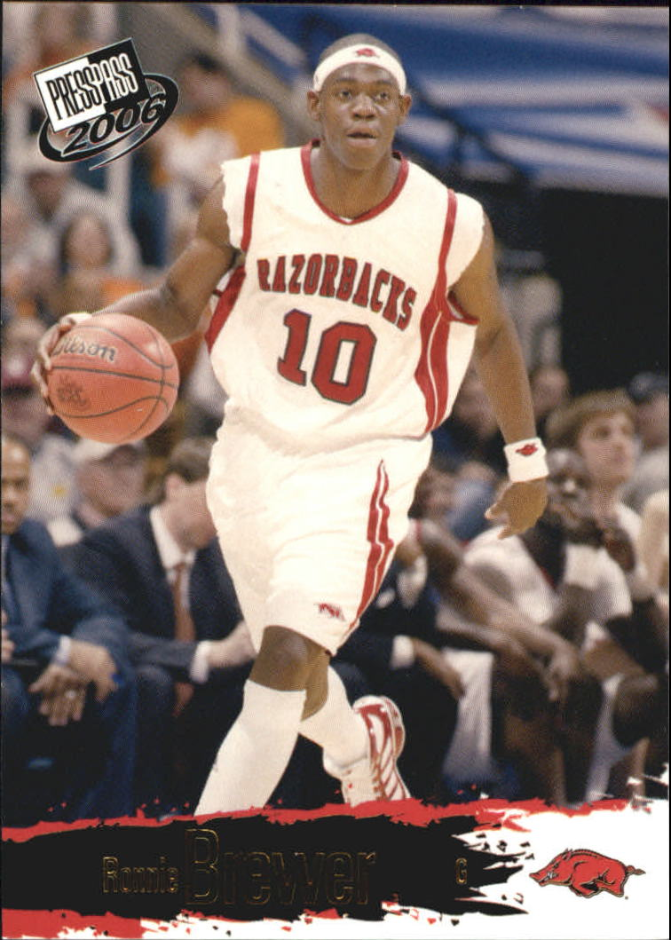 2006 Press Pass #6 Ronnie Brewer