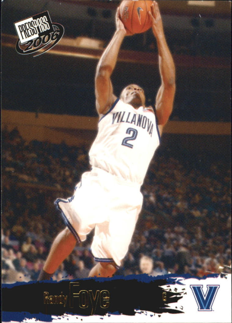 2006 Press Pass #15 Randy Foye