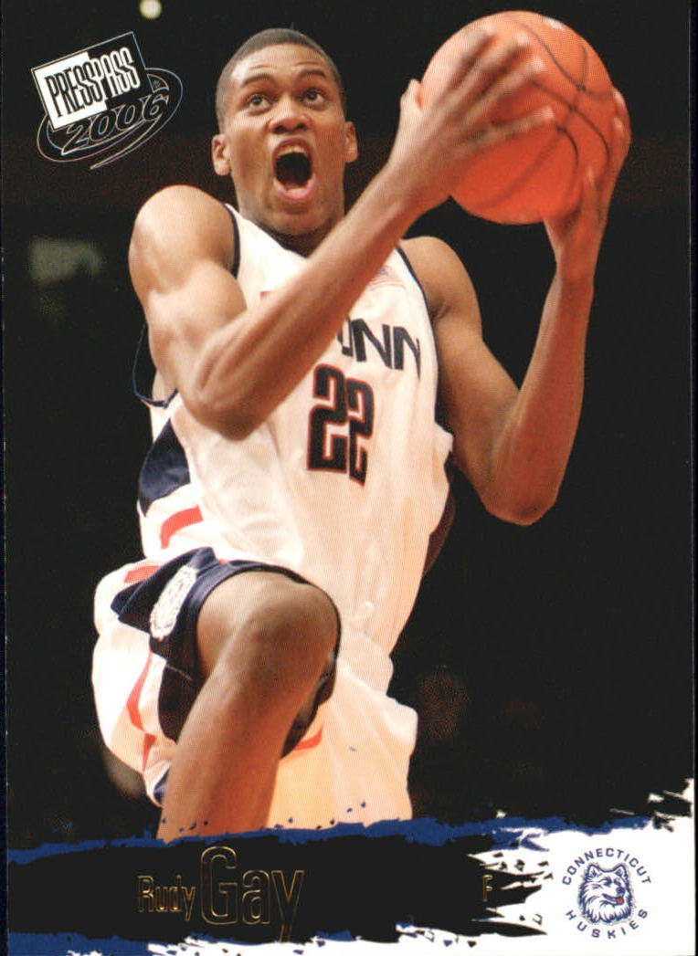 2006 Press Pass #17 Rudy Gay