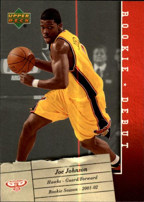 2006-07 Upper Deck Rookie Debut #2 Joe Johnson