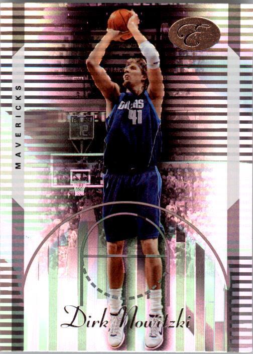 2006-07 Bowman Elevation #37 Dirk Nowitzki