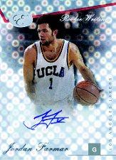 2006-07 Bowman Elevation Rookie Writing Autographs #JF Jordan Farmar