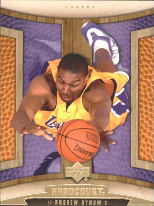 2006-07 Upper Deck Hardcourt #46 Andrew Bynum