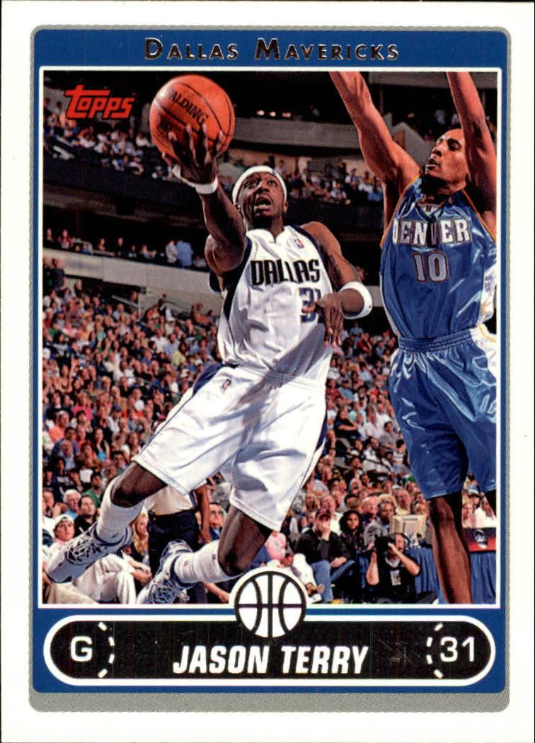 2006-07 Topps #11 Jason Terry