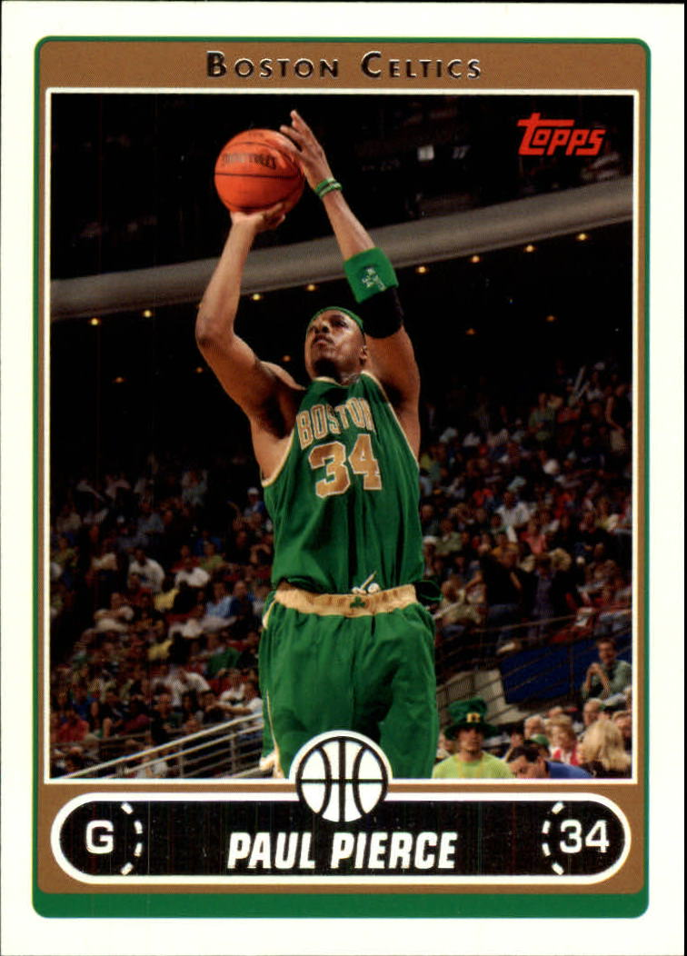 2006-07 Topps #21 Paul Pierce