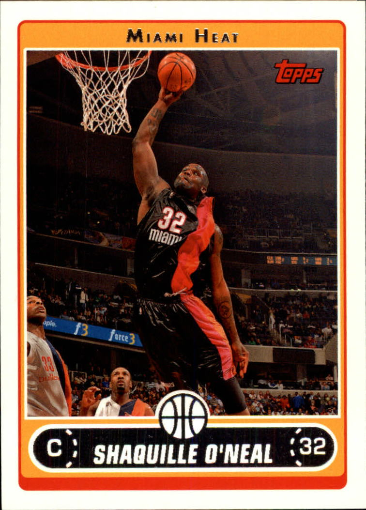 2006-07 Topps #32 Shaquille O'Neal