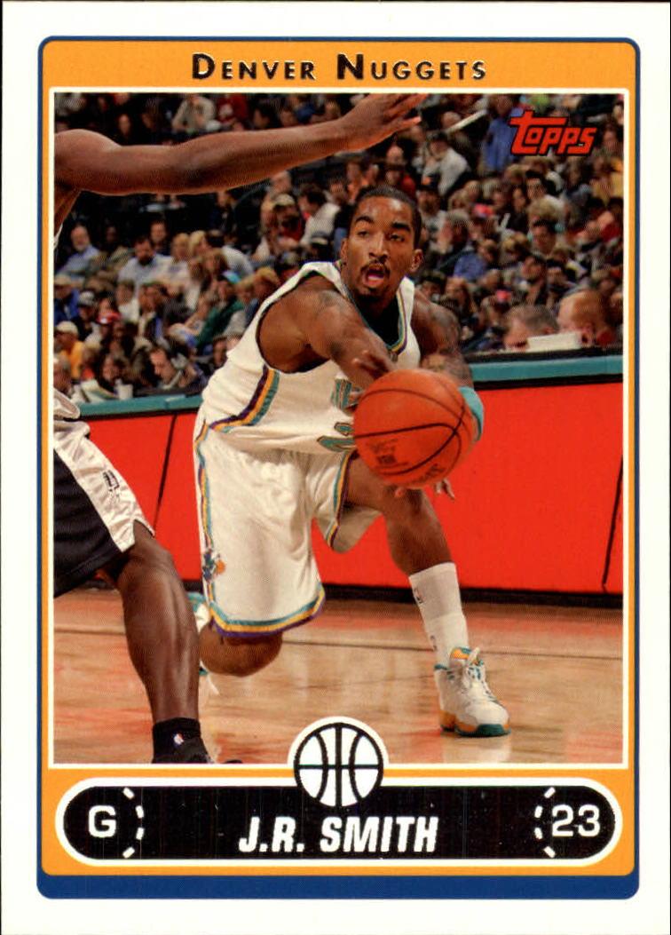 2006-07 Topps #48 J.R. Smith