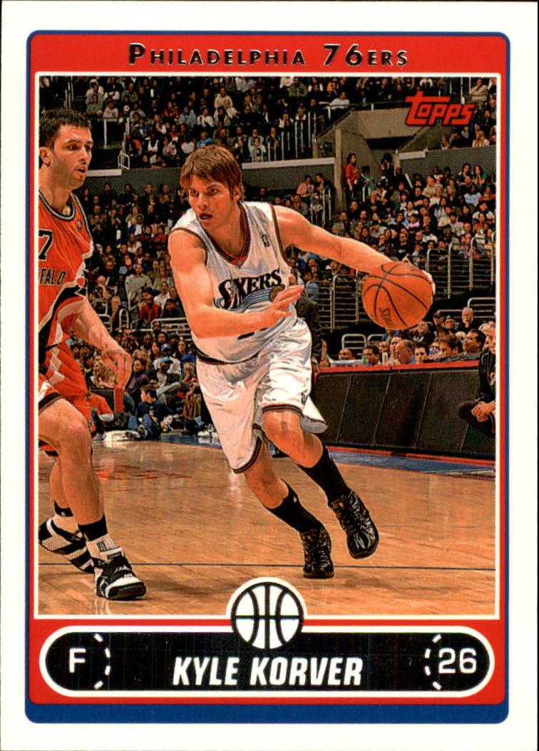 2006-07 Topps #98 Kyle Korver