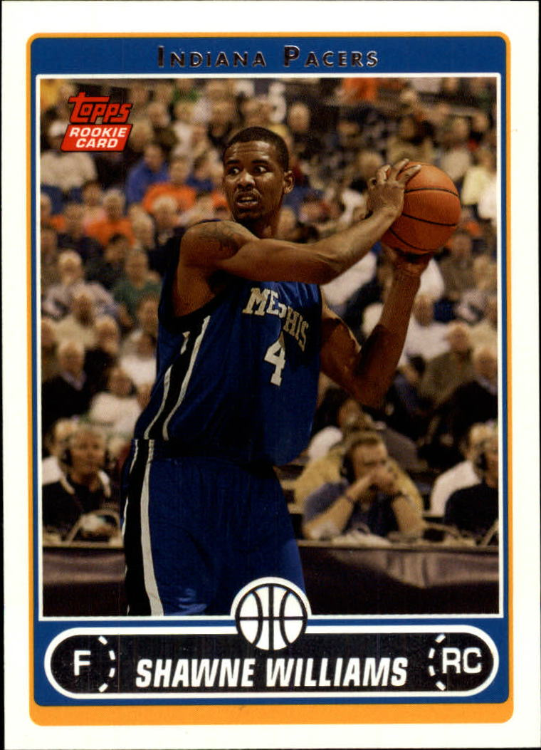 2006-07 Topps #222 Shawne Williams RC