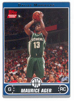 2006-07 Topps #242 Maurice Ager RC