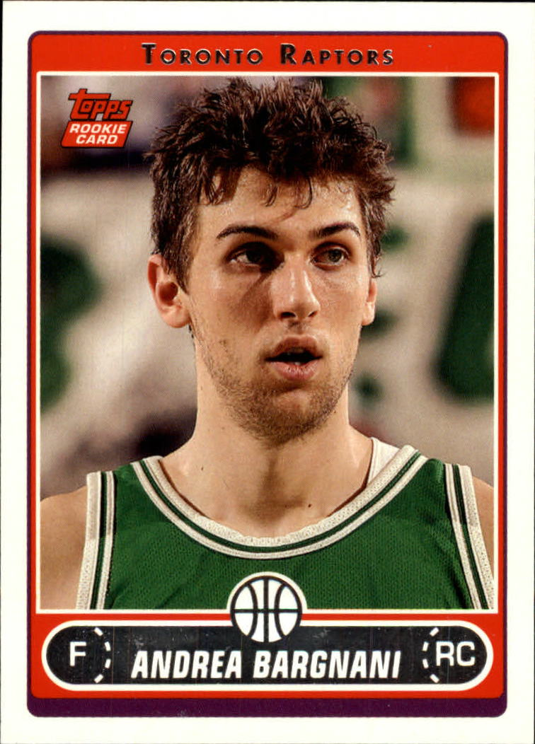 2006-07 Topps #255A Andrea Bargnani RC