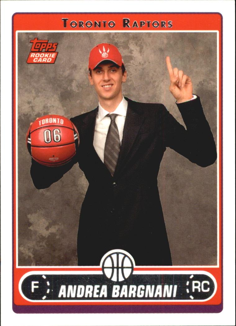 2006-07 Topps #255B Andrea Bargnani Draft RC