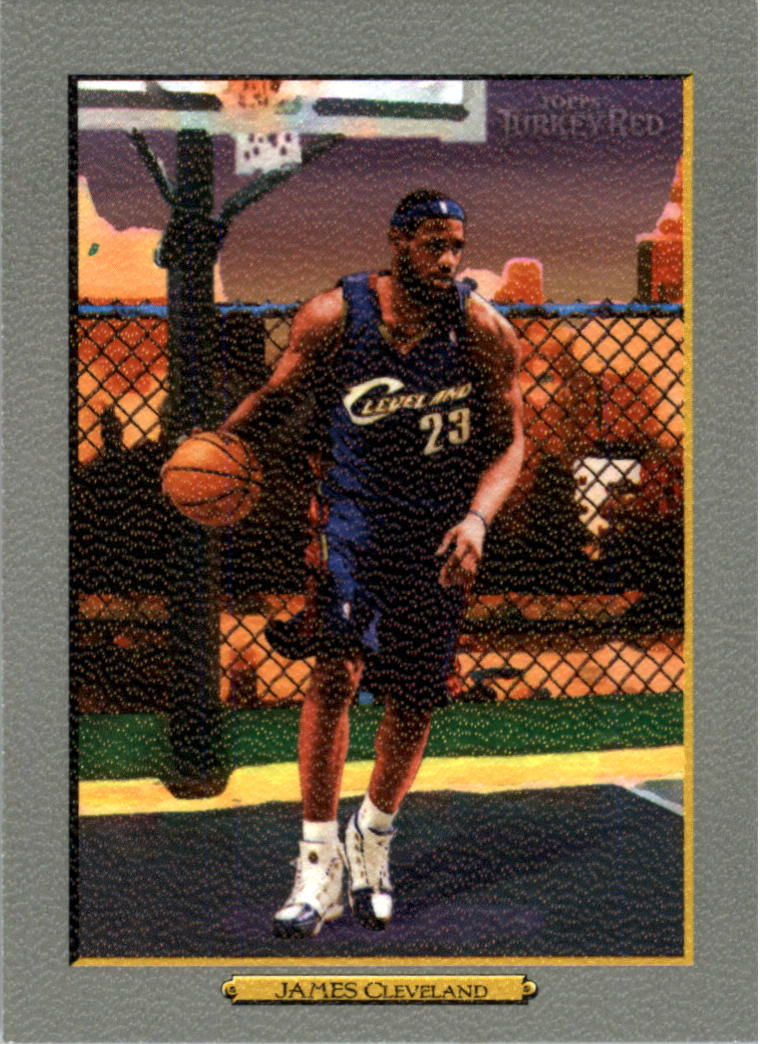 2006-07 Topps Turkey Red #2 LeBron James