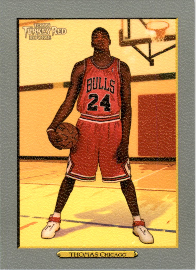 2006-07 Topps Turkey Red #178 Tyrus Thomas RC