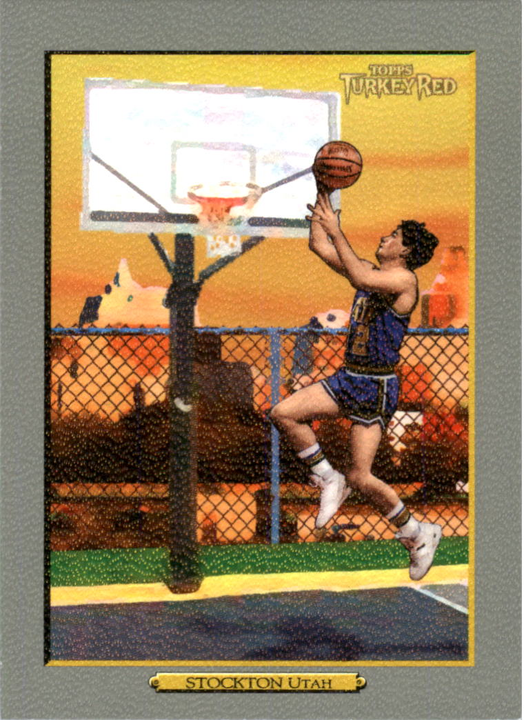 2006-07 Topps Turkey Red #243 John Stockton
