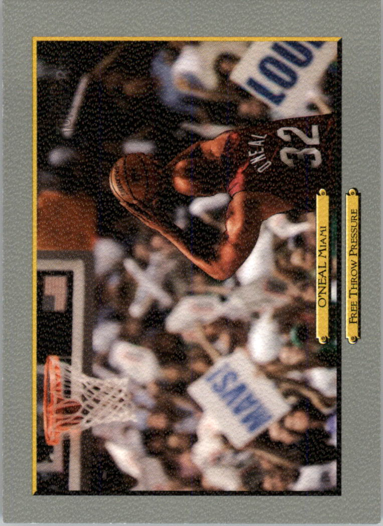 2006-07 Topps Turkey Red #252 Shaquille O'Neal CL