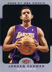 2006-07 Fleer #220 Jordan Farmar RC