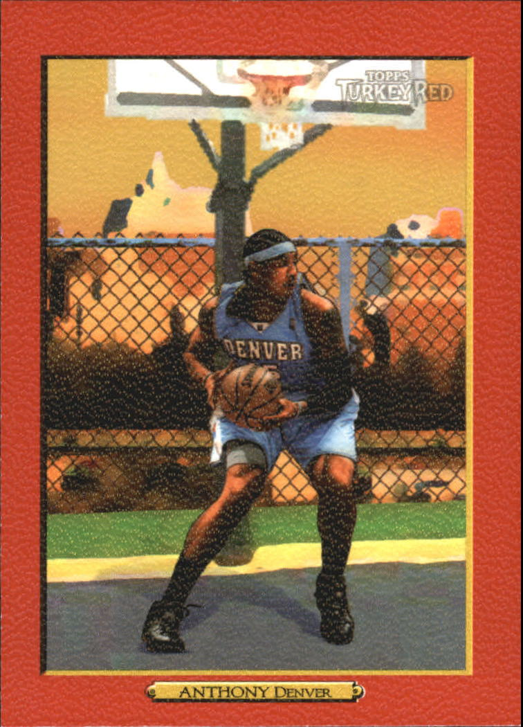 2006-07 Topps Turkey Red Red #140 Carmelo Anthony