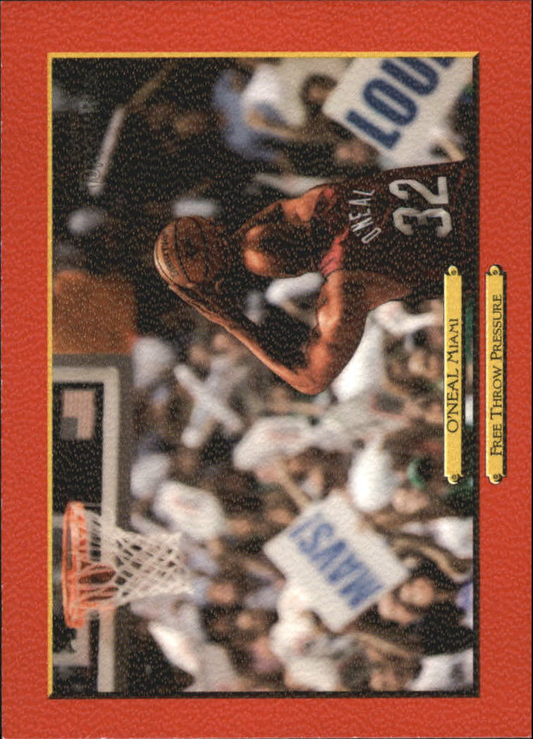 2006-07 Topps Turkey Red Red #252 Shaquille O'Neal CL