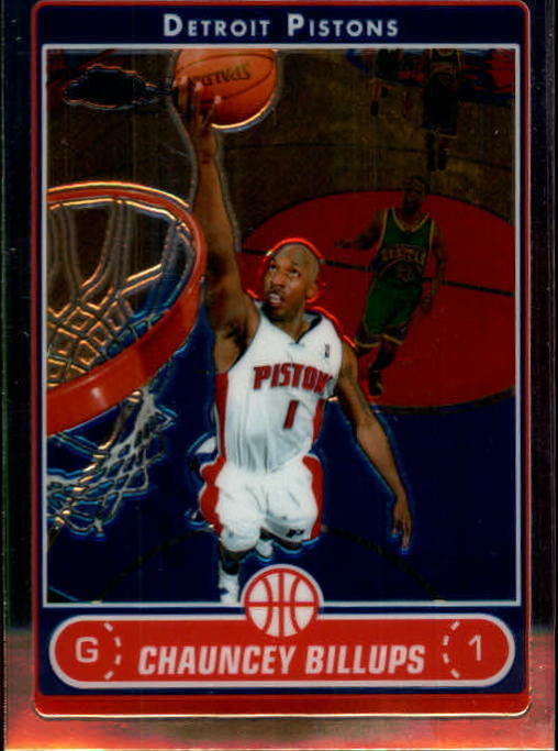 2006-07 Topps Chrome #5 Chauncey Billups