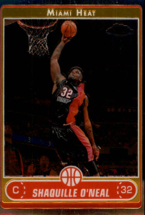 2006-07 Topps Chrome #25 Shaquille O'Neal
