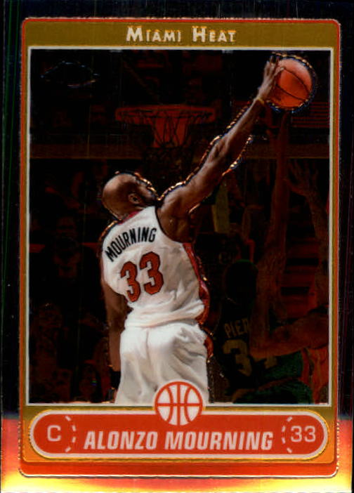 2006-07 Topps Chrome #39 Alonzo Mourning