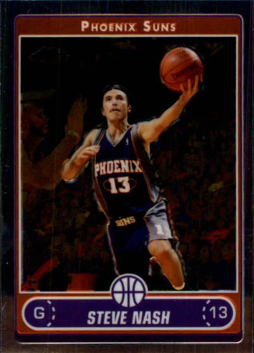 2006-07 Topps Chrome #60 Steve Nash