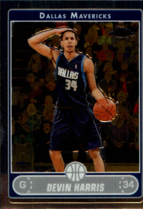 2006-07 Topps Chrome #87 Devin Harris