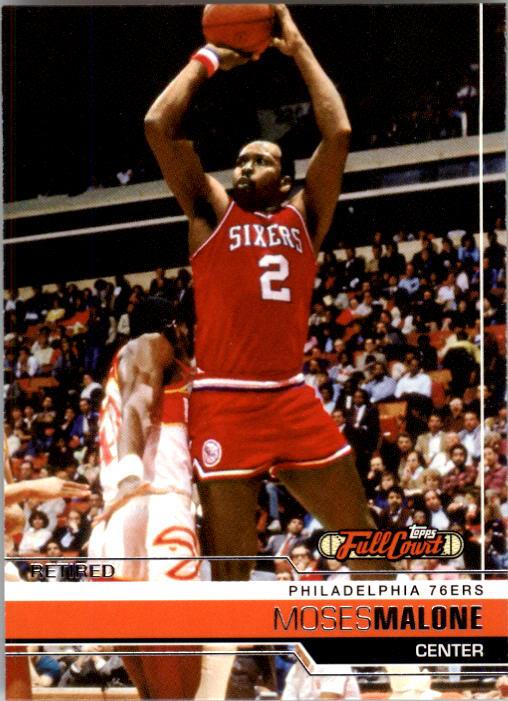 2006-07 Topps Full Court #98 Moses Malone